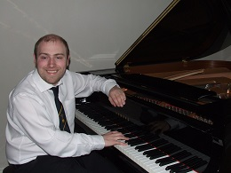 Piano Tuning Stourbridge  Matthew Richards playing Yamaha Grand Piano