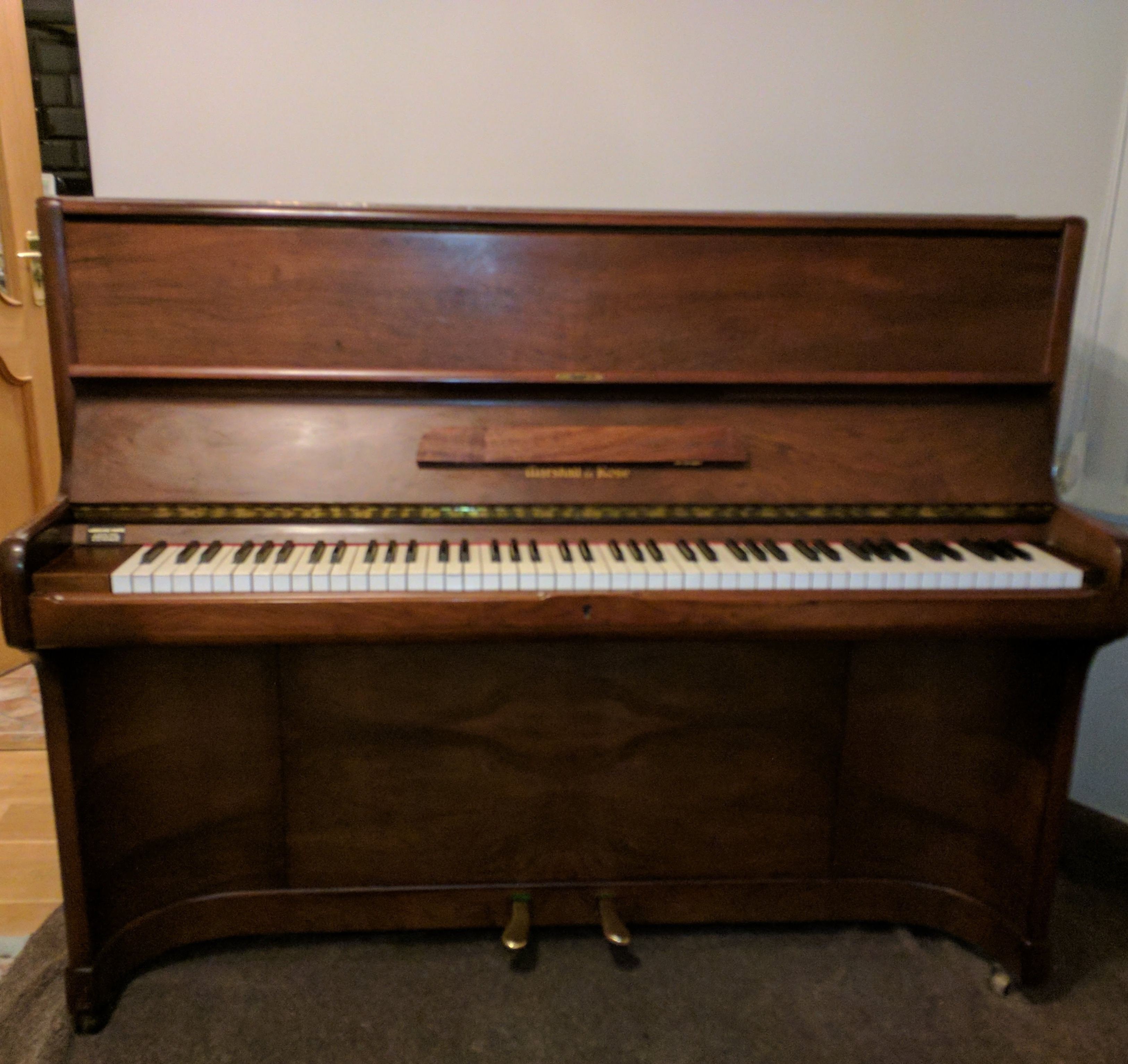 Marshall and Rose Upright Piano